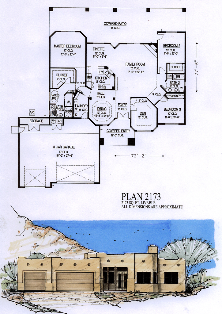 Price 870 plan 2247 view floor plan price 900 plan 2173 bedrooms 3