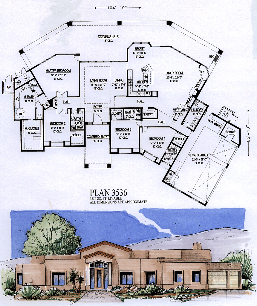 3500 to 4500 square feet for 3500 sf house plans