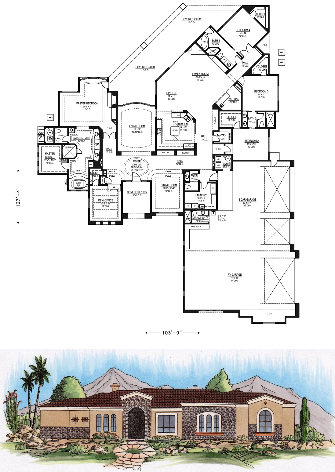 6000 sq ft house plans 4000 sq ft office plan